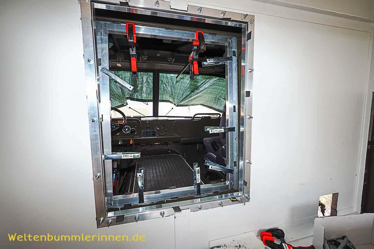 Durchstieg - Bau eines Durchstieges beim Steyr 680 GL