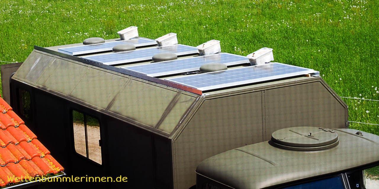allzeit-bereift.de - Elektroanlage beim Selbstausbau des Fienchens, Steyr 680GL