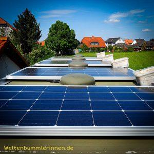 Die Elektroanlage Teil 2 – Solaranlage