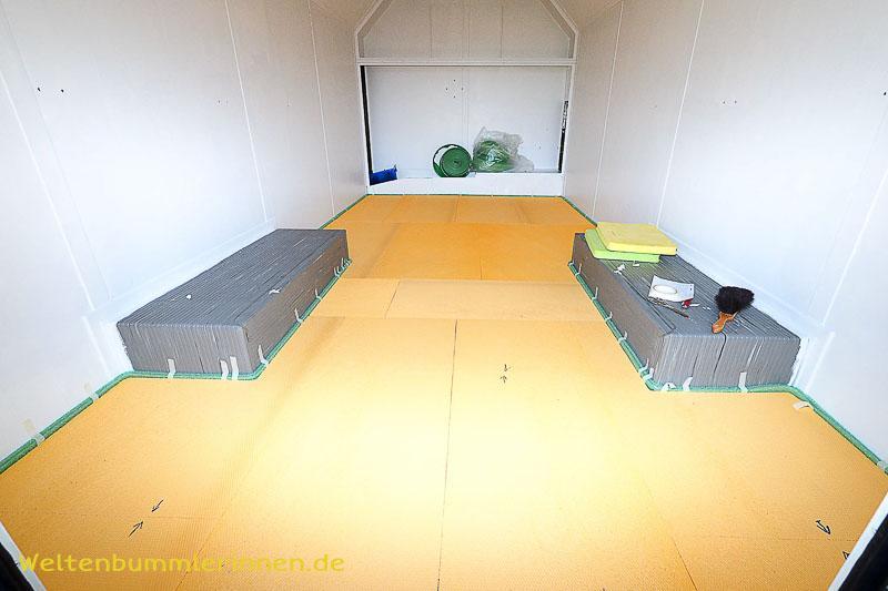 Fußbodenaufbau im Wohnmobil Teil 1
