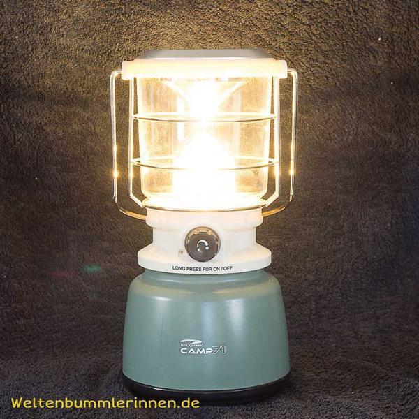 allzeit-bereift.de - Campinglampe LiteXpress CAMP71