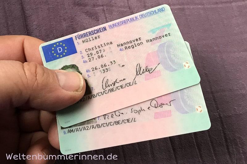 Internationaler führerschein hannover