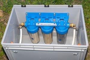 Trinkwasser im Wohnmobil 2 – Der externe Wasserfilterkasten