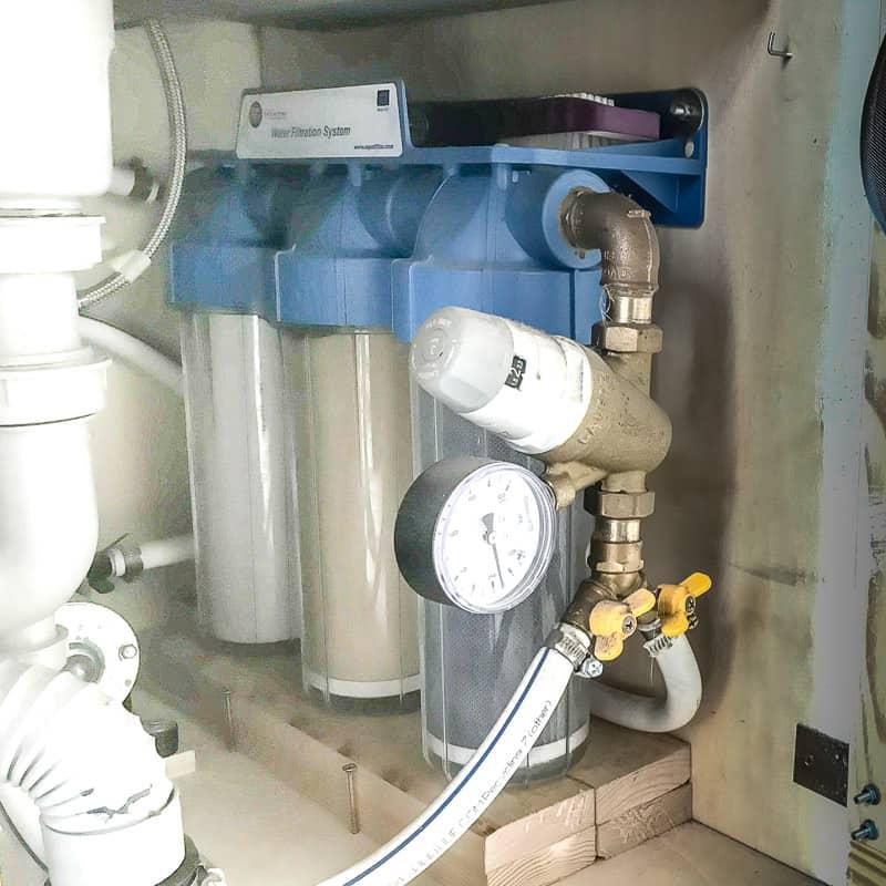 Trinkwasser im Fernreisemobil drei