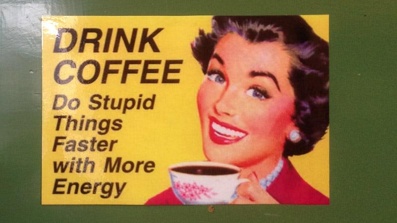 Wie wir unseren Kaffee im Wohnmobil zubereiten