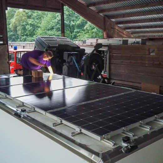 Solarströmlinge und Gucklöcher
