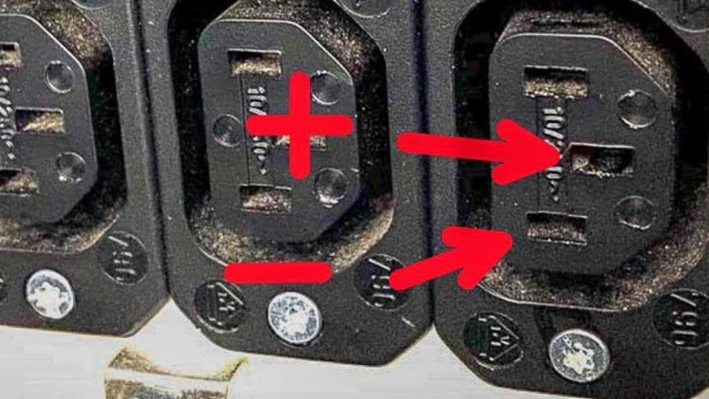 Unser 12 Volt Anschluss der Steckdosen im Wohnmobil