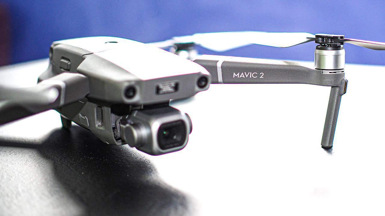 Frontansicht der DJI Drohne Mavic 2 Pro