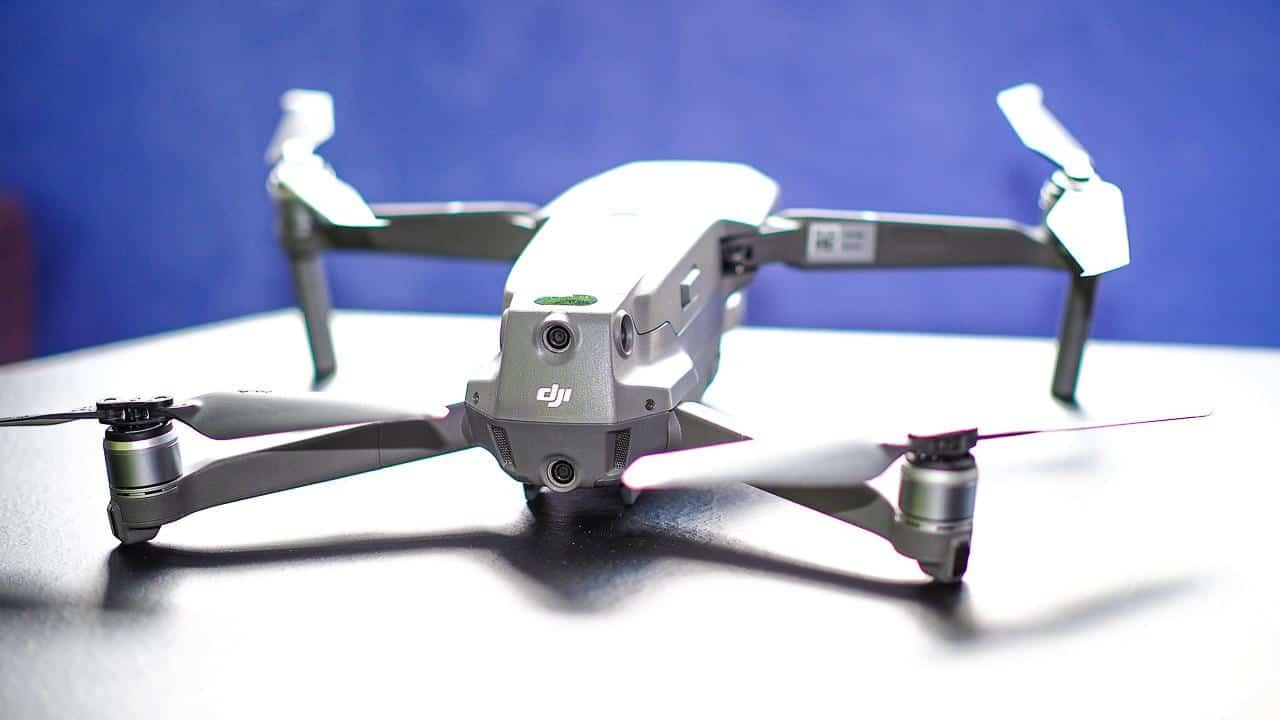 Rückansicht der DJI Drohne Mavic Pro 2