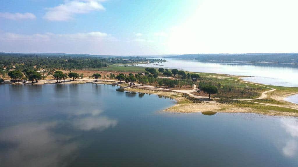 Luftaufnahme Montargil