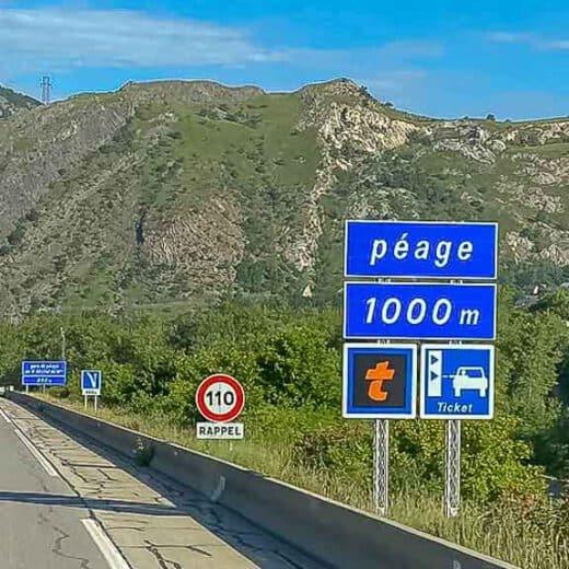 Mautsysteme in Europa auf der Fahrt nach Portugal