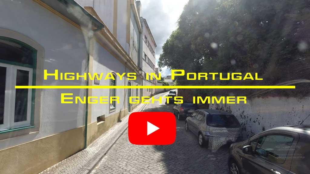 Ins portugiesische Inland