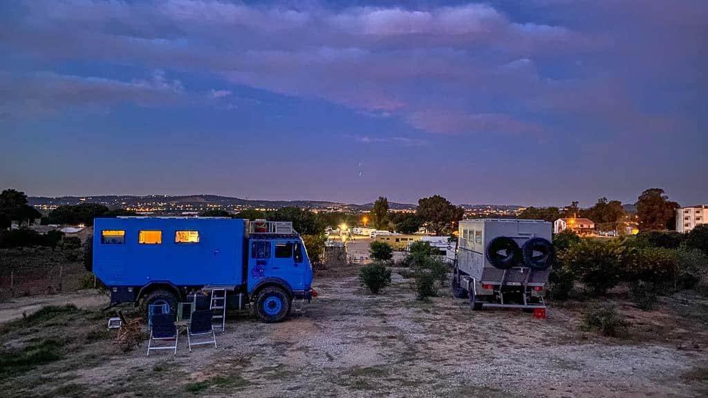 Wohnmobilstellplätze in Portugal