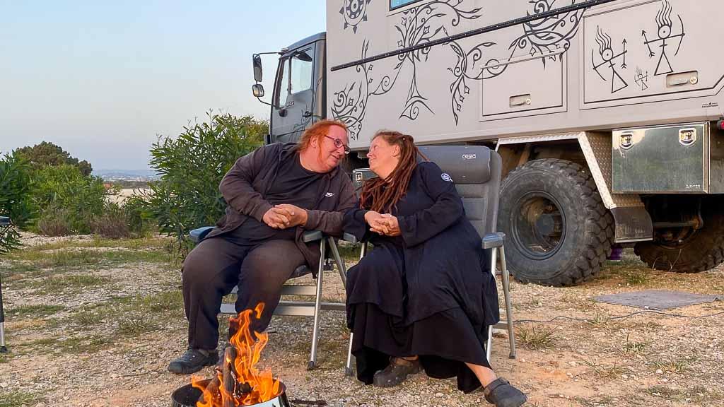 Lagerfeuergeschichten im Wohnmobil Blog