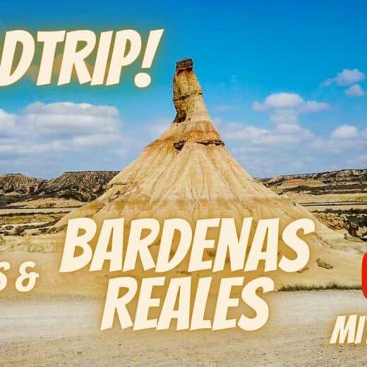 Unser Roadtrip zu den Bardenas Reales