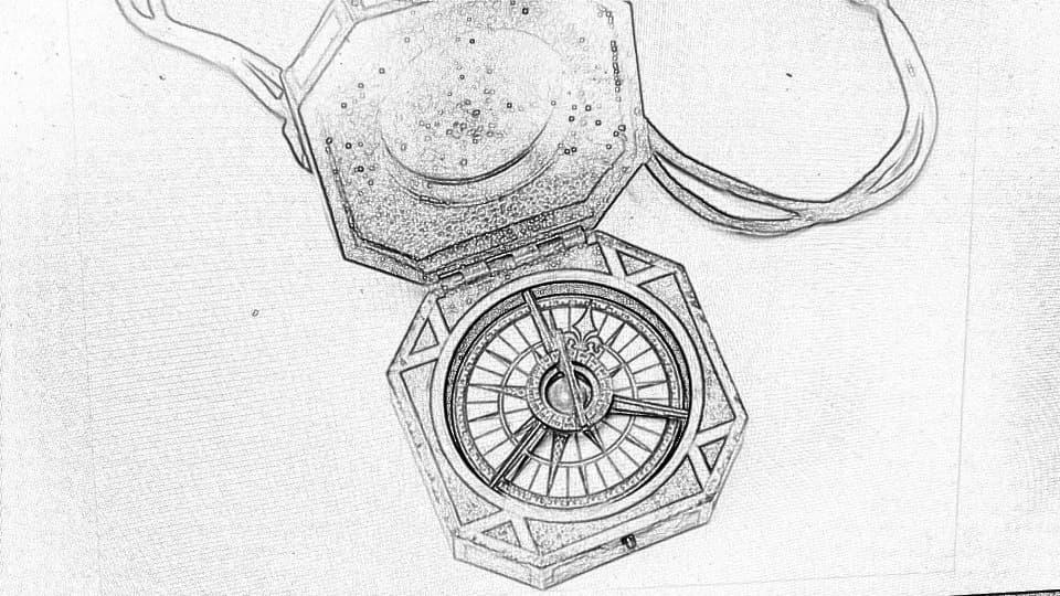 Kompass von Captain Jack Sparrow