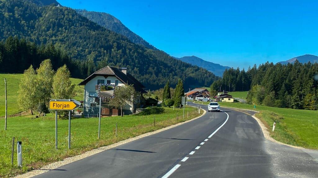 Slowenisches Landschaftsbild