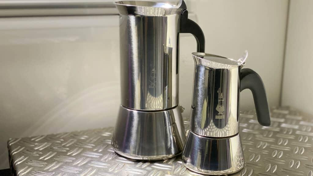 in Italien gekaufte Bialetti Espressomaschinen